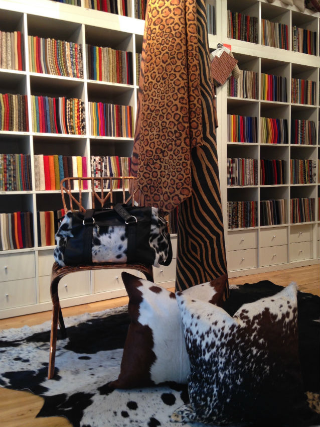 Design Centre, Chelsea Harbour, cowhide rugs, nguni, cowhide bags, luxury interiors, luxury home accessories home decor