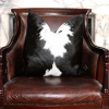Zulucow Nguni cowhide black and white cushion, scatter cushions home accessories soft furnishings interiors home, sustainable, ethical, handmade