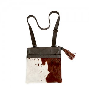 Zulucow cowhide leather cross body bag accessories womenswear bags