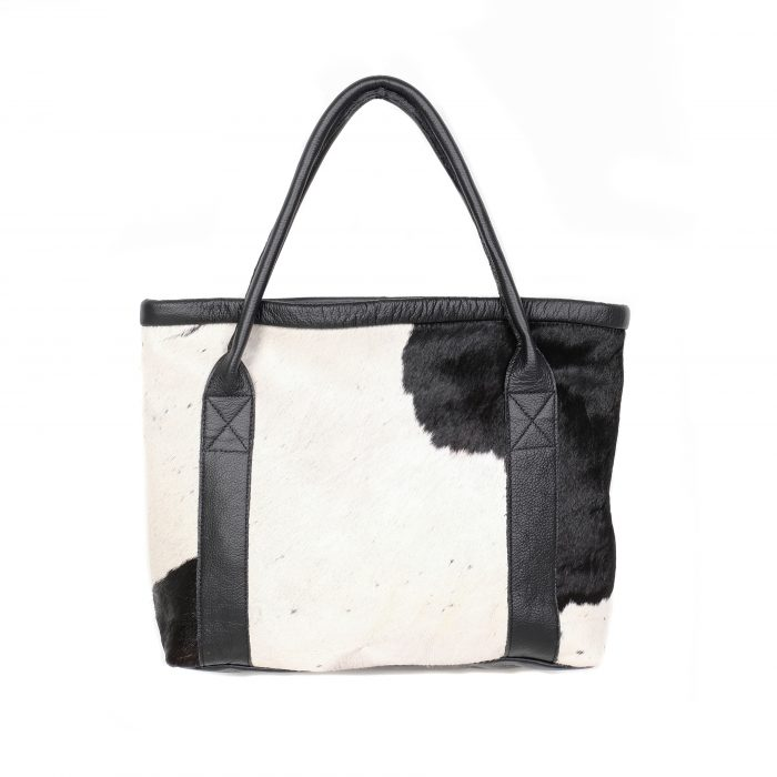 bags-leather-tote-bags-hobo bags, cowhide-bags -brown and white, leather bags, fashion accessories, women's accessories, handmade bags, artisan made, socially conscious brand, sustainable fashion