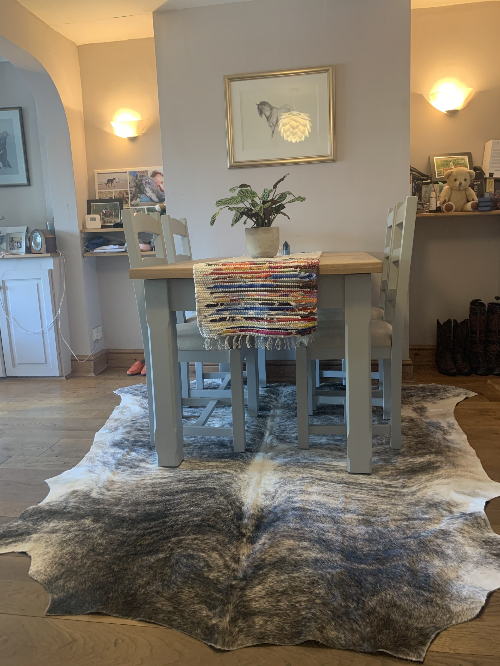 Nguni cowhide rugs, white & black spot, cowhides, skins, animal print, cowhide, luxury interiors, home interiors, interior styling, soft furnishings, sustainable, ethical, skins,