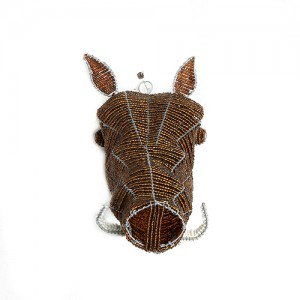 warthog beaded trophy heads, beaded wire animal sculpture, beaded heads, african wire beaded heads, wall art, antlers, home decor interiors , hand made in africa