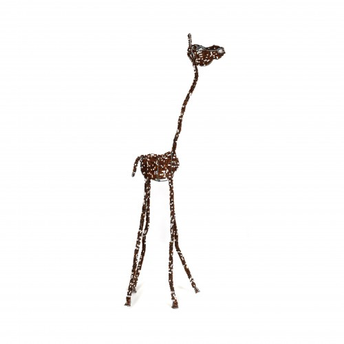gorgeous colourful beaded giraffes, beaded sculptures, beaded art, gifts, childrens' gifts, african beaded giraffe, beaded sculpture
