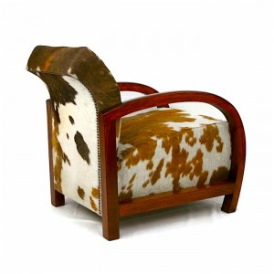 Image of: Safari Style Furniture For Cowhide Furniture Armchair Chair Art Deco Antique Chair Safarichic Luxury Home Interiors Zulucow