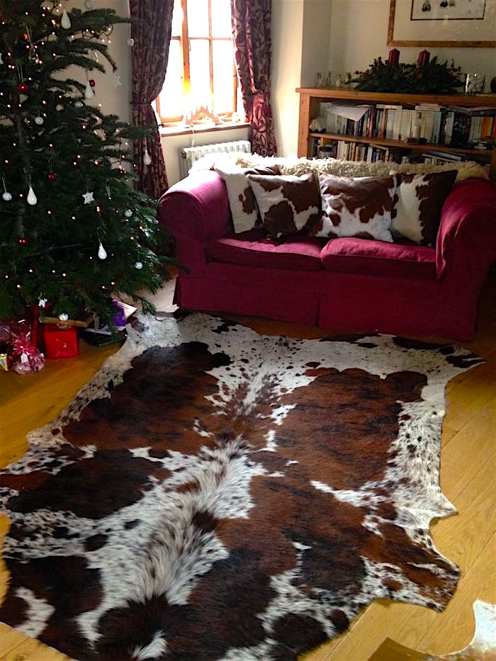 cowhide rugs, hides, cowhides, skins, animal print, cowhide, luxury interiors, home interiors, interior styling, soft furnishings, sustainable