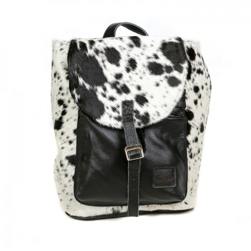 9fa88993c6 Cowhide Backpack. £199.00. Select options Details · Zulucow cowhide black  and white handbag fashion bags women s accessories ...