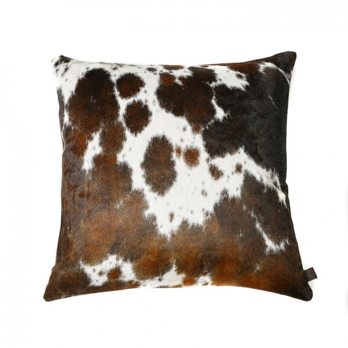 Zulucow Nguni cowhide cushions, brown and white scatter cushions home accessories soft furnishings interiors home decor pillows
