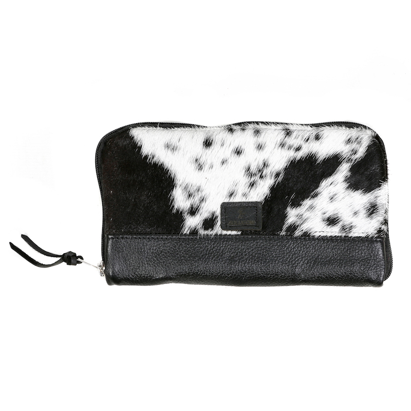 cowhide bag, leather bag, handbag, clutch, clutch bag, black & white, purse, evening bag, cowhide accessories, evening bag, fashion accessories