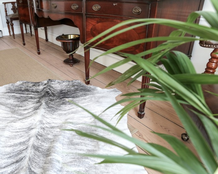 Nguni cowhide rugs, grey hides, animal print, cowhides, skins, animal print, cowhide, luxury interiors, home interiors, interior styling, soft furnishings, sustainable, ethical