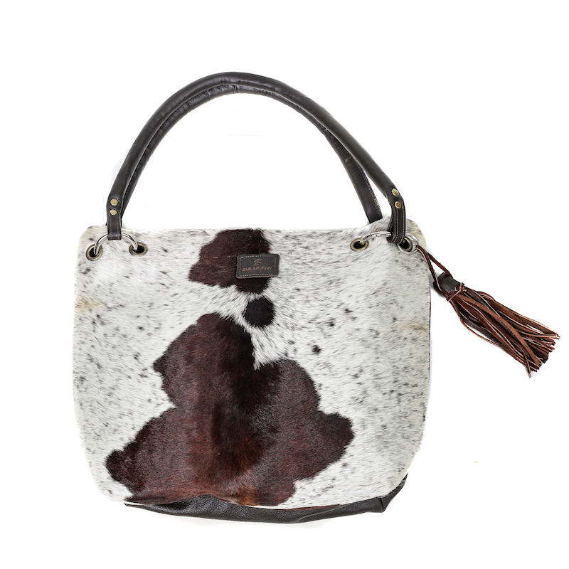 bags-leather-slouch-bags-hobo bags, cowhide-purses-brown and white, leather bags, fashion accessories, women's accessories
