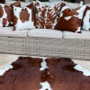 Nguni cowhide rugs, brown and white hides, cowhides, skins, animal print, cowhide, luxury interiors, home interiors, interior styling, soft furnishings, sustainable, ethical