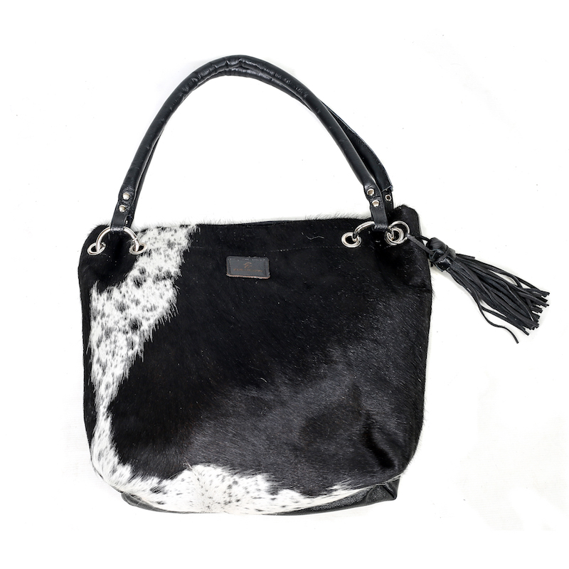 bags-leather-slouch bags, hobo bags-cowhide-purses, bags-brown and white, leather bags, fashion accessories, women's accessories