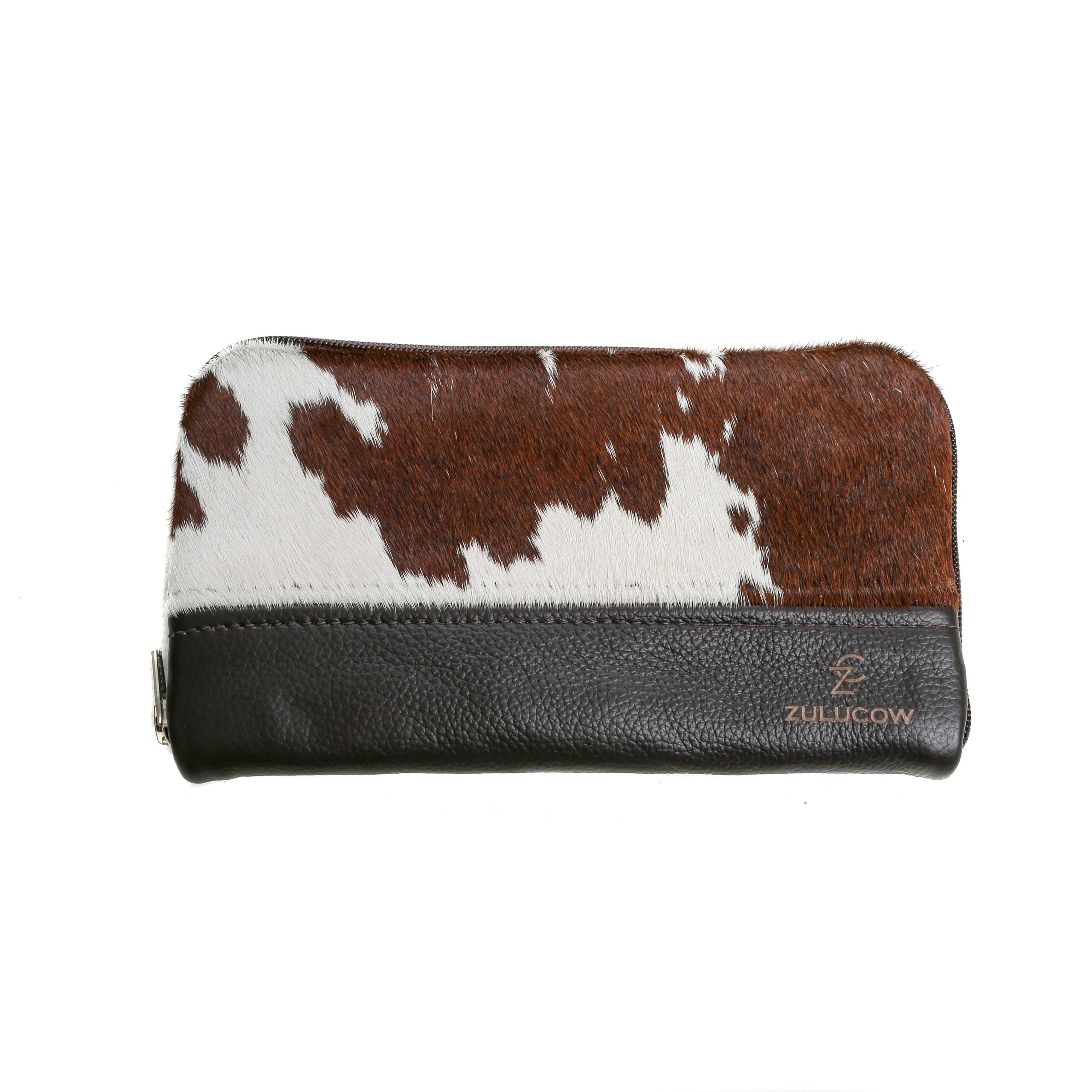 cowhide purse, wallet, travel wallet, clutch, cowhide clutch, sustainable fashion, slow fashion, sustainable, handmade purse, artisan-made, ethically made, christmas gifts for her