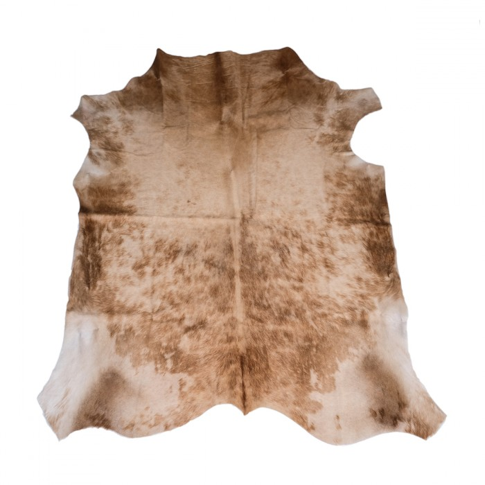 cowhide rug, brown, beige, Nguni, sustainable cowhide skin, interiors, home decor