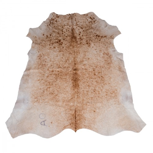 cowhide rug, brown speckles, Nguni, sustainable cowhide skin