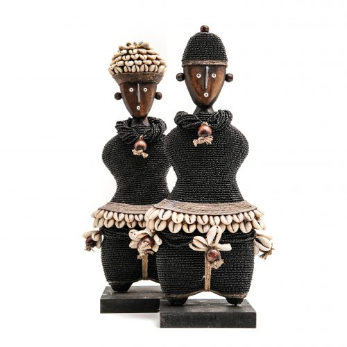 Namji dolls, home decor, unique art, wedding gift, cowrie shells