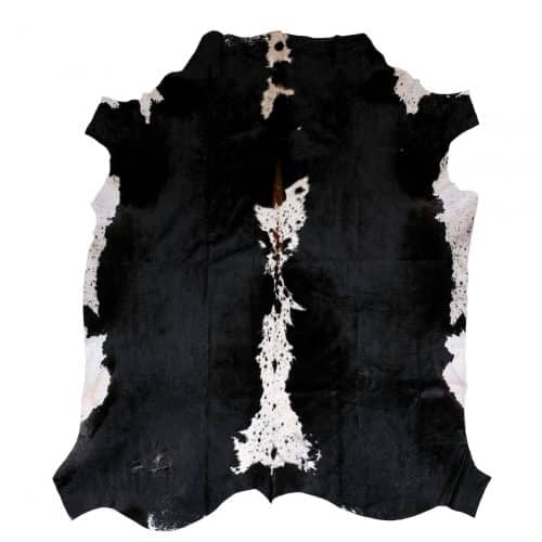 cowhide rug, tricolour, cowhides, skins, interiors, sustainable, interiors ideas, living room style
