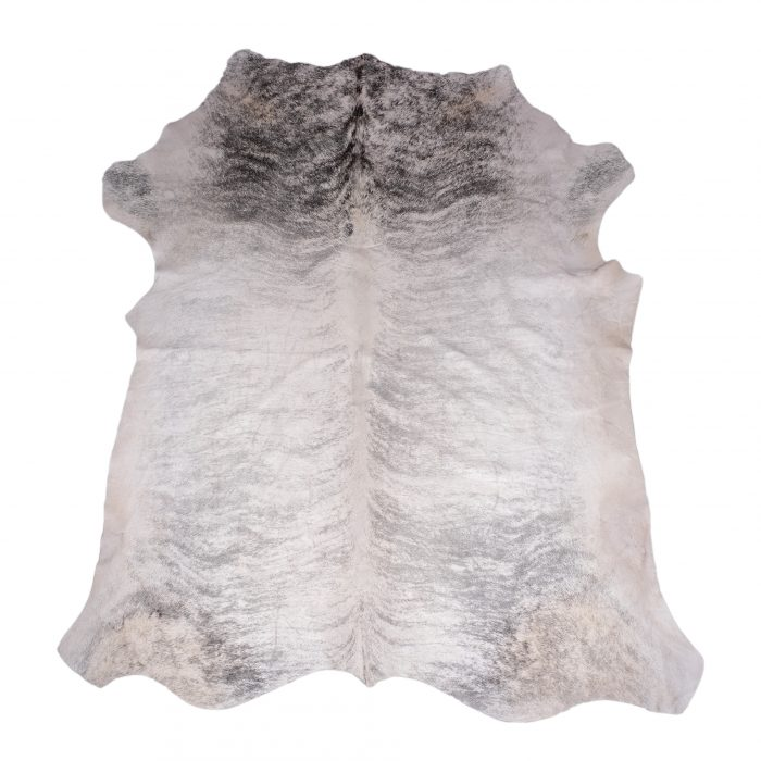 Zulucow Nguni cowhide rug, snow grey rug, animal skin, by product, luxury interiors, home interiors, interior styling, soft furnishings, sustainable, ethical, living room decor, floor art